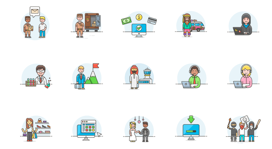 50 FREE Illustrations by Streamline UX