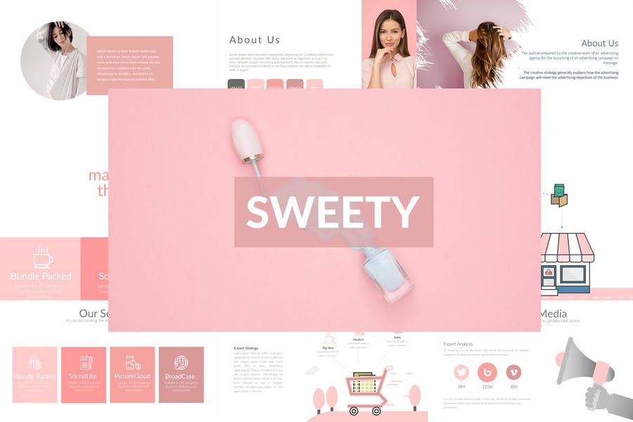 Sweety Presentation Template
